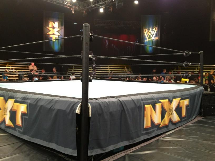 El Set de NXT durante las grabaciones del WWE Superstar Showdown / Twitter.com/JoeVilla_WWE
