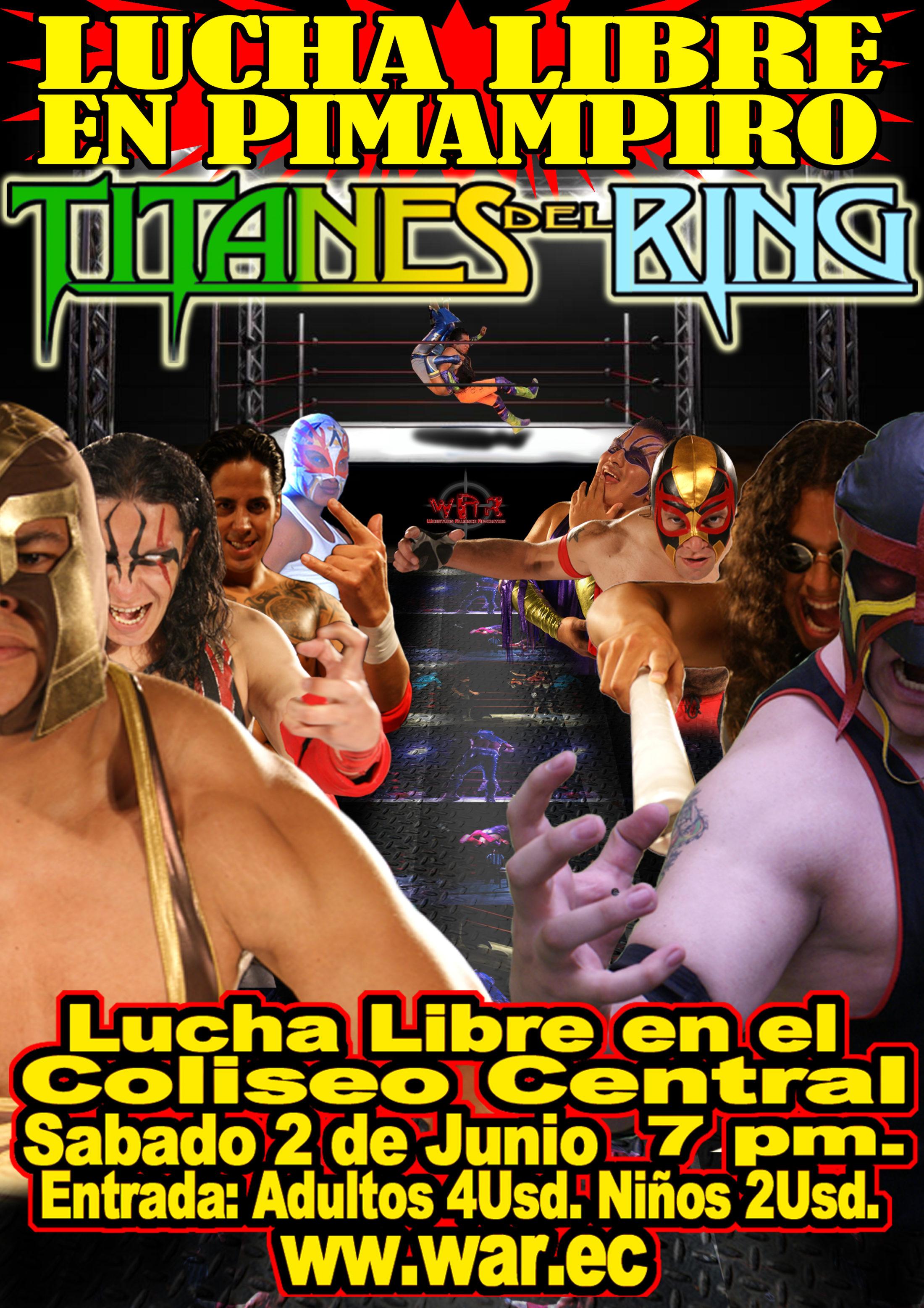 Titanes del Ring 2012