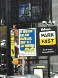 Si no te gusta el matrimonio gay...