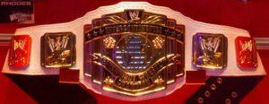 WWE Intercontinental Championship (Classic Version 2011) / Photo by: Simon - Wikipedia.org
