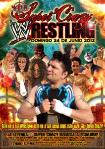 Super Crazy Wrestling -poster oficial-
