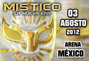 Místico (II) llega este 3 de agosto a la Arena México 2
