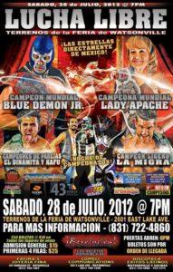 Lucha Libre - 28 de julio 2012 en Watsonville