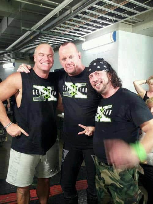 The Undertaker, X-Pack y Billy Gunn - WWE RAW 1000