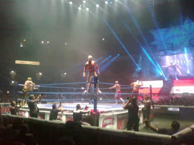 """El Nuevo """"Mistico"""" (3 agosto 2012, Arena México) / Photo by @CHRISTEMKNOTKER"""