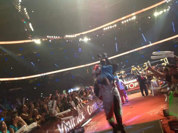 """TripleManía XX - """"El día ha Llegado"""" (Cobertura y Resultados 5 de agosto de 2012) - ¡Dr. Wagner, Jr. se lleva la Máscara de Máscara Año 2000, Jr.! - ¡Kurt Angle en México! 3"""