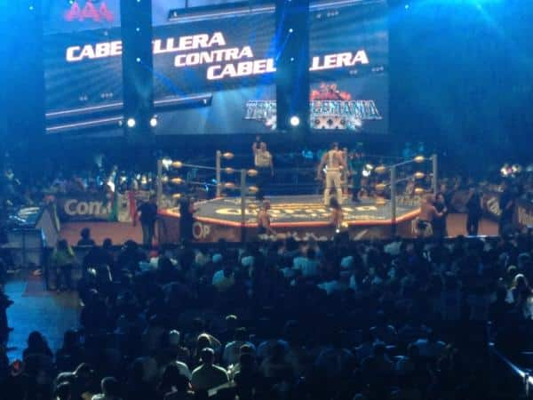 Kurt Angle en México - Image by Lucha Libre Triple A