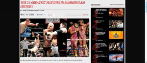 WWE Top 25: Los mejores combates de la historia de WWE Summerslam 12