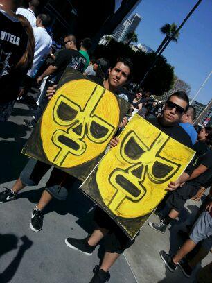 César y Nacho presentes en el SummerSlam 2012
