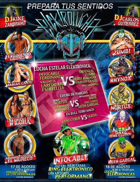 ElektroLucha en Lucha Libre 2012 La Experiencia (Resultados 18/Ago/12) 1
