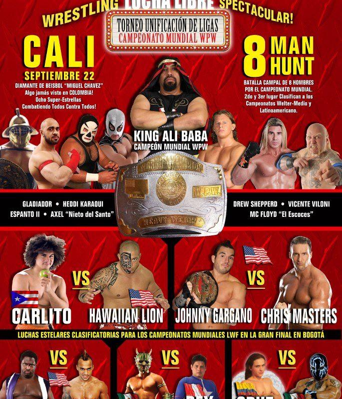 LWF - Torneo Unificación de Ligas - Cali (22 de septiembre de 2012)