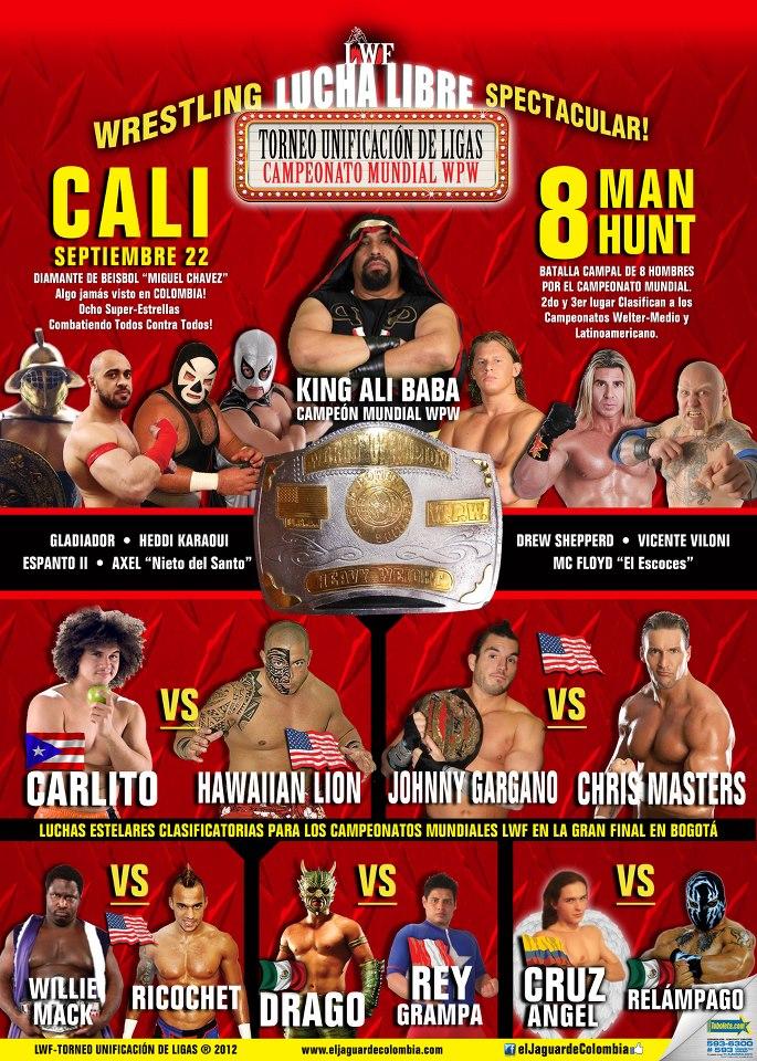 LWF - League Unification Tournament - Cali (September 22, 2012)