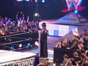 The Undertaker entrando al ring (17/2/2009) / Photo by: zevhonith - Flickr.com