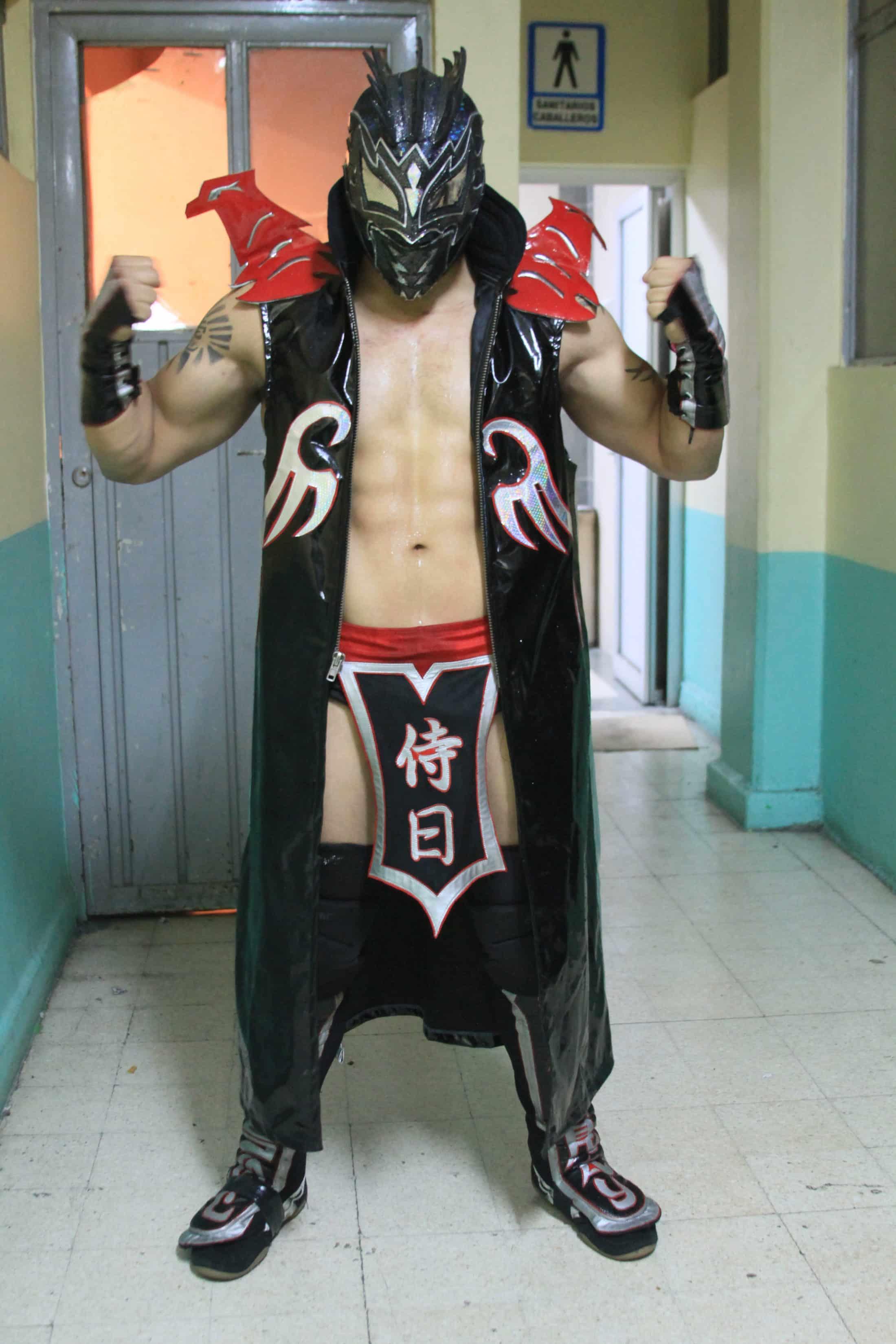 Samuray del Sol / Imagen cortesía Lucha Libre AAA para Súper Luchas