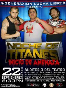 """GLL Perú presenta """"Noche de Titanes"""" este sábado 22 1"""