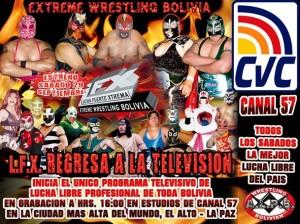 Lucha libre boliviana vuelve a la Tv