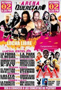 Video: Damián 666 rumbo a la Arena Querétaro - Familia de Tijuana vs. Psycho Circus (02/Oct/12) 5