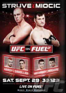UFC on Fuel TV: Struve vs. Miocic