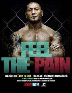 CES MMA Real Pain - El debut de Batista