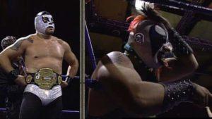 ¡Cien Caras Jr. retiene título ante Psycho Clown! 5