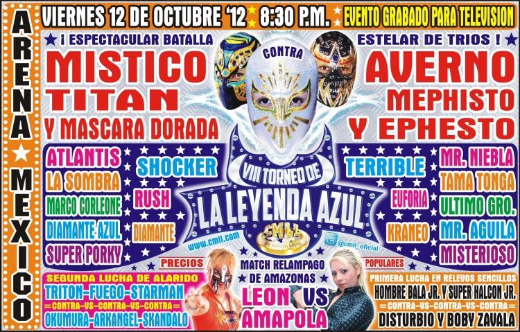 """VIII Torneo de """"La Leyenda Azul"""" – Tama Tonga y León en México (12/Oct/12) 4"""