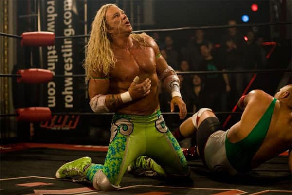 "Mickey Rourke en ""The Wrestler"""