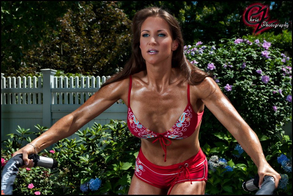 Stephanie McMahon entrenando / Photo by: Chriz Z Photography - RXMuscle.com
