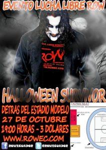 Evento ROW: Halloween Survivor 14