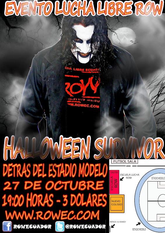 Evento ROW: Halloween Survivor 1