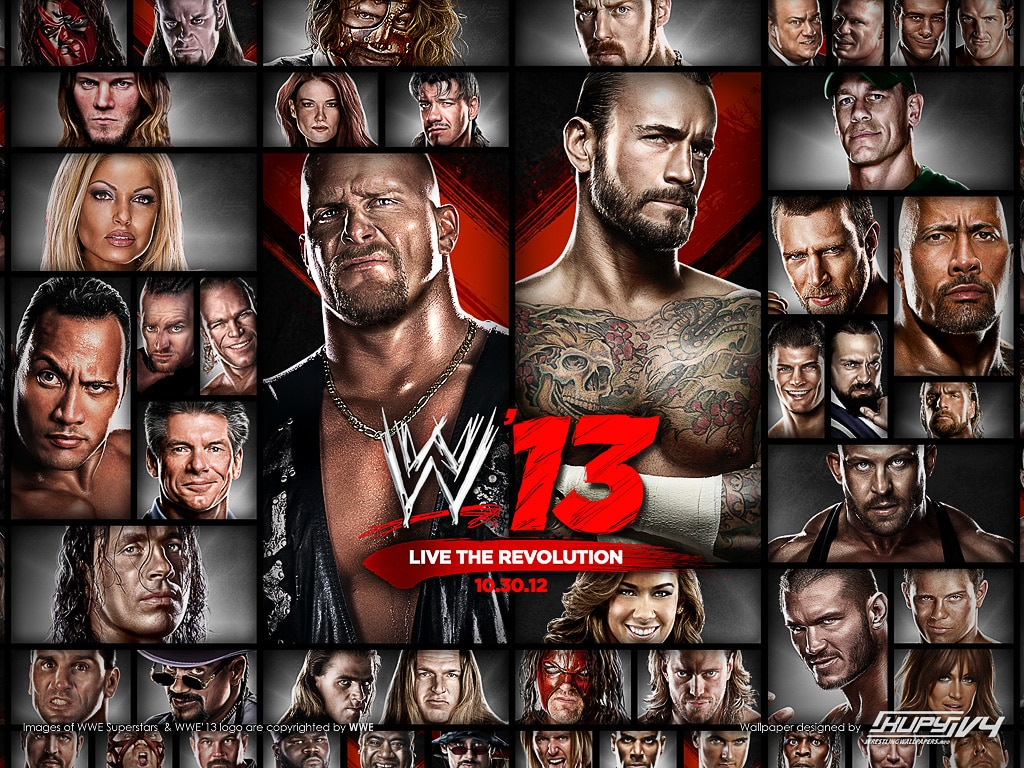 Wallpaper WWE13 / kupywrestlingwallpapers.info/
