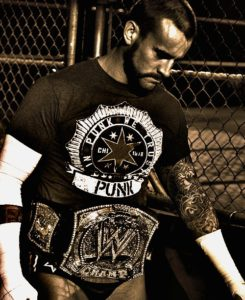CM Punk como WWE Champion en WWE Hell in a Cell 2012