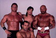 The Radicalz (Chris Benoit, Dean Malenko, Eddie Guerrero y Perry Saturn) / Imagen by www.luchawiki.com