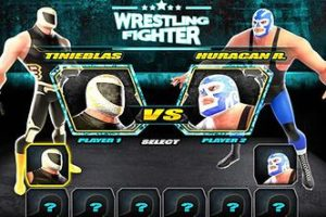Wrestling Fighter: 8 leyendas mexicanas en un video juego 5