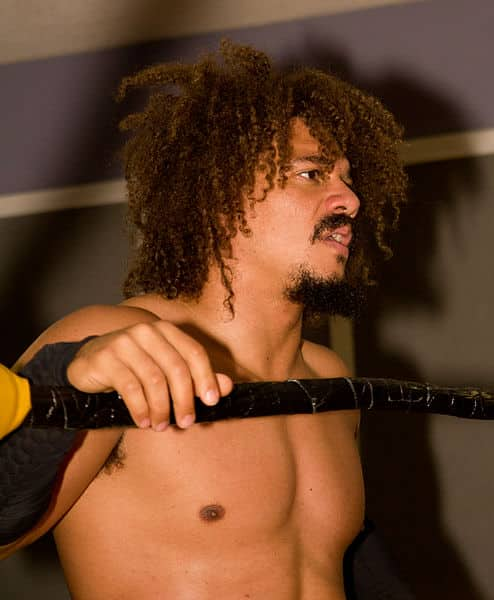 "Carlito en Busted Knuckle Pro Wrestling: ""Heat Stroke"" / Las Cataratas del Niágara - 17 de agosto de 2012 / Photo by Tabercil - Wikipedia.org"