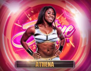 Athena debuta en WWE 1