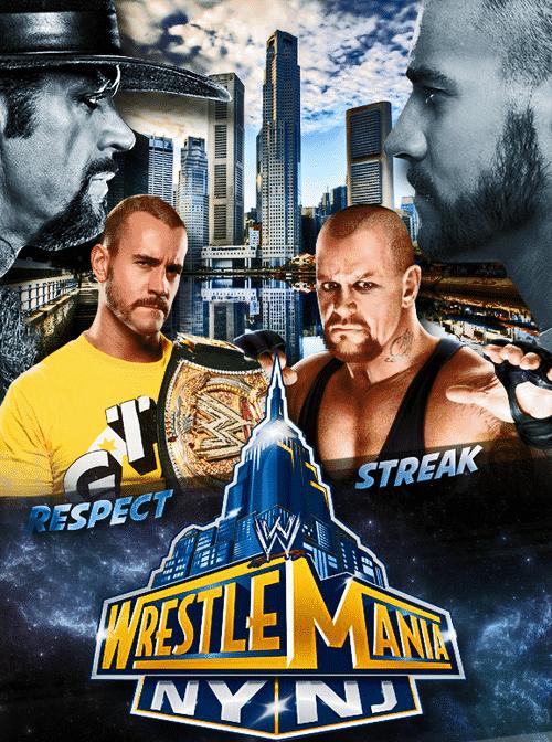 FanMade: CM Punk vs. The Undertaker en WWE WrestleMania 29