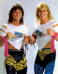The Rockers: Marty Jannetty y Shawn Michaels / ©WWE