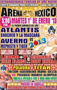 Promo: Disturbio y Boby Zavala vs. Leono y Tigre Blanco (Cabelleras vs. Cabelleras) 2
