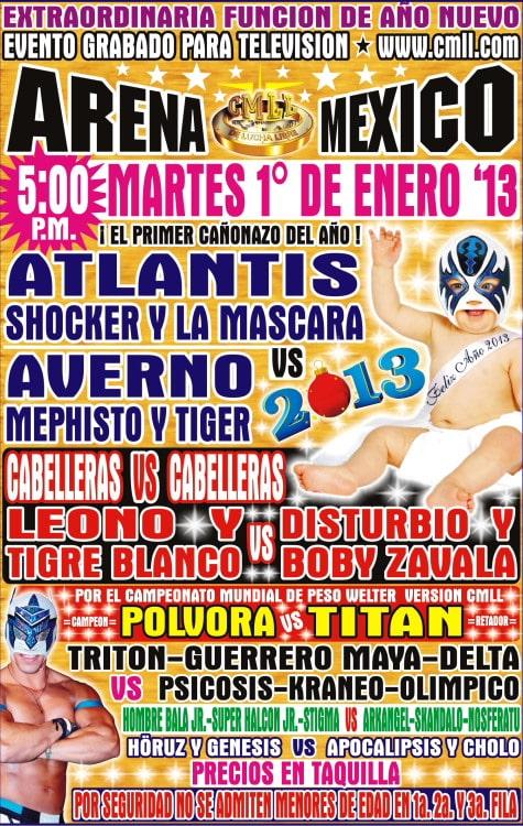 Promo: Disturbio y Boby Zavala vs. Leono y Tigre Blanco (Cabelleras vs. Cabelleras) 1