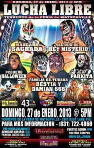 Pro Wrestling Revolution en Watsonville, California (27/1/13)