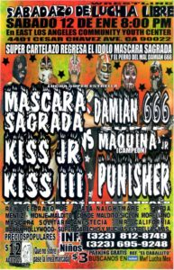 MWF: Sabadazo de Lucha Libre Mexicana - Los Ángeles, California (12/1/13)