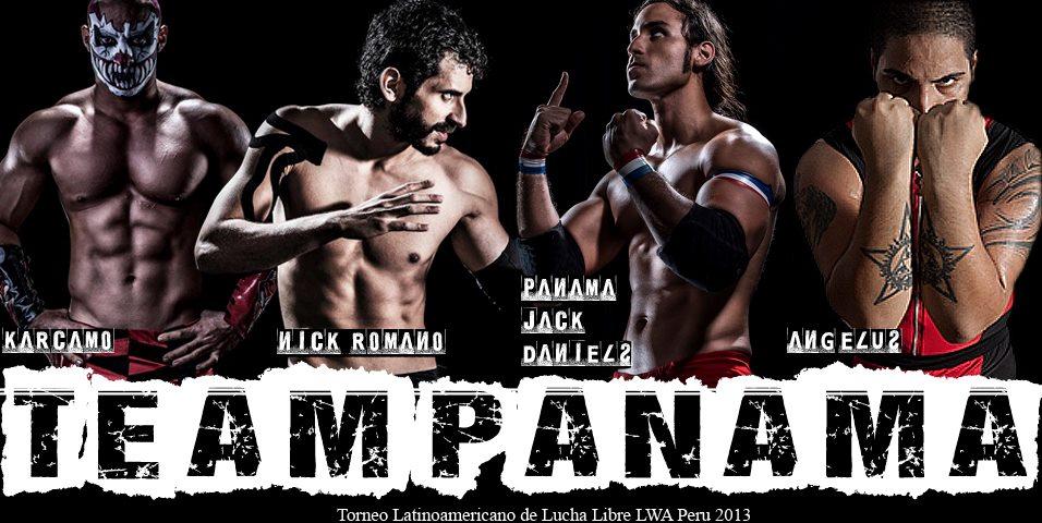 """#TeamPanama listo para el """"Torneo Latinoamericano de Lucha Libre"""" 1"""