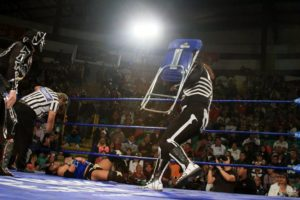Parka vs Parka en Pachuca / Imagen cortesía de LuchaLibreAAA para Súper Luchas