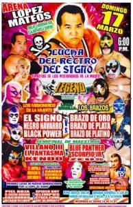 Función de Retiro de El Signo - Arena López Mateos (17/3/13)