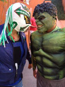 Triple A visita la fundación Corazones Cruzados