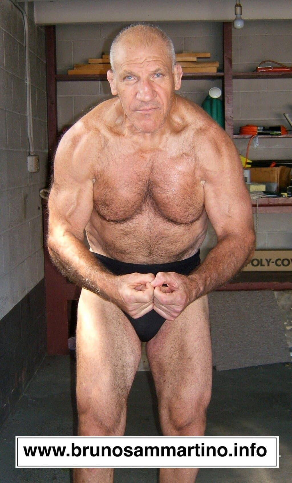 Bruno Sammartino (77 años - 2013) / BrunoSammartino.info