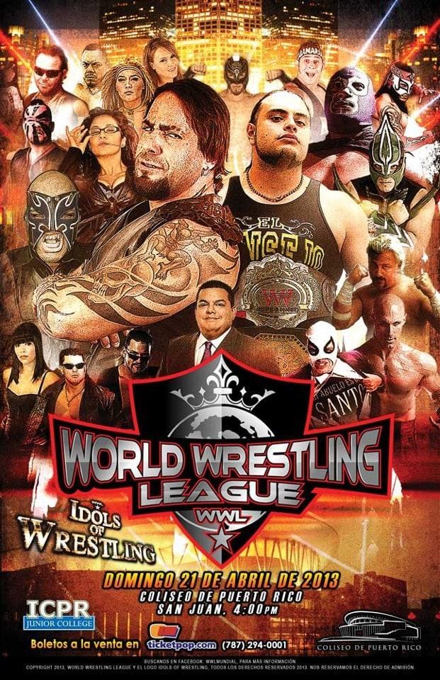 """""""Idolos del wrestling"""", debut de WWL en Puerto Rico"""