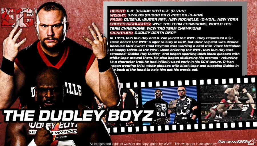 The Dudley Boys / Bubba Ray Dudley + D-Von Dudley