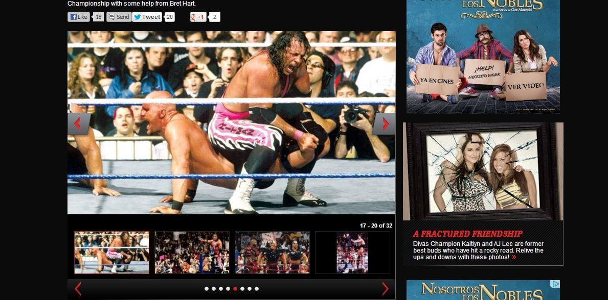 Bret Hart ayudó a que WWE firmara a Stone Cold