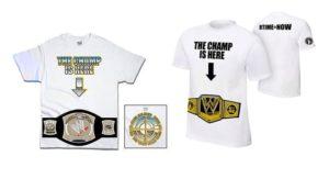 "Playera John Cena ""The Champ is Here"""